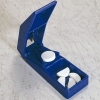 Tablettenteiler blau