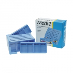 Medi-7 Medikamentendosierer, blau