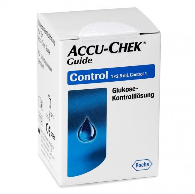 Kontrolllösung Accu-Chek Guide (1 x 2,5 ml)